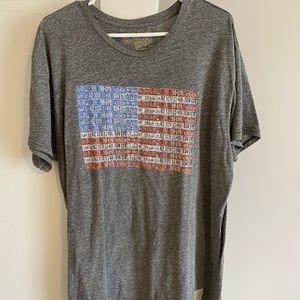 Retro Brand US flag shirt.